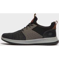 Skechers Men's Delson Shoes, Black