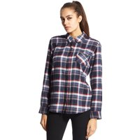 Brakeburn Womens Check Shirt, Navy