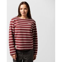 Brakeburn Womens Bella Long Sleeve Tee, Red