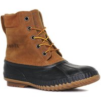 Sorel Mens Cheyanne Lace Leather Boot, Brown