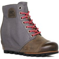 Sorel Womens 1964 Premium Wedge Boot, Grey