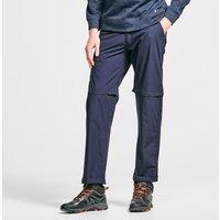 HI-GEAR Mens Nebraska II Zip-Off Trousers (Long), NVY/NVY