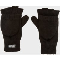 Peter Storm Womens Thinsulate Fingerless Converter Gloves, Black