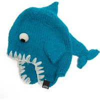 Animal Bate Shark Beanie, Blue