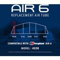 Eurohike Air 6 Tent Replacement Air Tube - 452r  Black