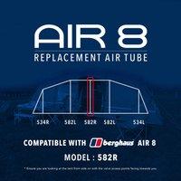 Eurohike Air 8 Tent Replacement Air Tube - 582r  Black