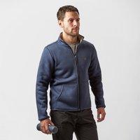 Jack Wolfskin Mens Terra Nova Fleece Jacket, Blue