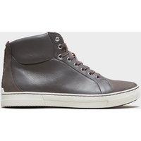 Clarks Mens Ballof Hi Boot, Grey