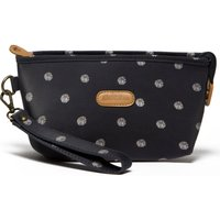 Brakeburn Polka Dot Purse, Navy