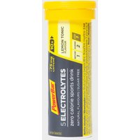 Powerbar Electrolyte Lemon Tonic Caffeine Tablets, Yellow