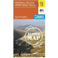 Ordnance Survey OL 19 Explorer Howgill Fells and Upper Eden Valley Active Map, Orange