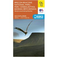 Ordnance Survey Explorer OL 12 Brecon Beacons National Park - Western & Central Areas Map, N/A