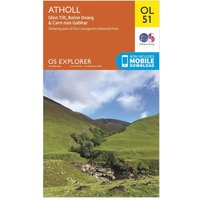 Ordnance Survey Explorer OL 51 Atholl Map, N/A
