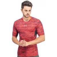 Under Armour Mens UA CoolSwitch Short Sleeve Compression Shirt, Red