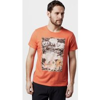 Protest Men's Brett T-Shirt, Orange/ORG