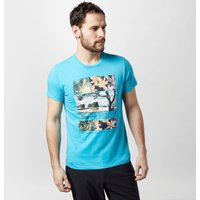 Protest Men's Grant T-Shirt, Blue