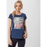 Animal Womens Love Surf T-Shirt, Navy