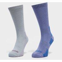 Bridgedale Women's Dingle Sock Multipack, Blue