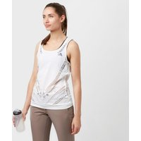 Adidas Womens Climacool Tank Top, White