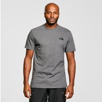 The North Face Men's Short Sleeve Simple Dome T-Shirt, Grey
