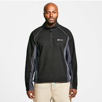 Berghaus Mens Hartsop Half-Zip Micro Fleece, Black