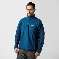 Berghaus Mens Hartsop Half-Zip Micro Fleece, Navy