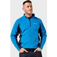 Berghaus Mens Hartsop Half-Zip Micro Fleece, Blue