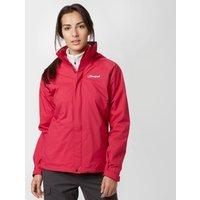 Berghaus Calisto Alpha Aq2 Waterproof Jacket, Pink