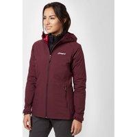 Berghaus Womens Stormcloud Waterproof Jacket, Red