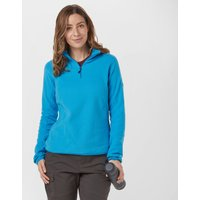 Berghaus Womens Hartsop Half-Zip Micro Fleece, Blue