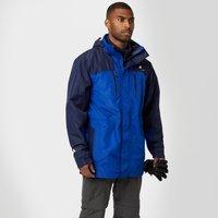 Technicals Mens Pinnacle Waterproof Jacket - Blue, Blue