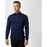 Peter Storm Mens Long Sleeve Thermal Zip Baselayer  Navy