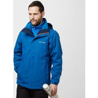 Columbia Mens Mission Air II Jacket, Blue