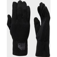 Sprayway Women's Touchscreen Fleece Gloves, Black