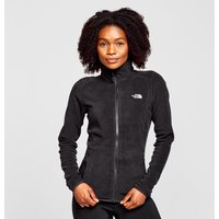 The North Face Womens Glacier Full-Zip Fleece, Black