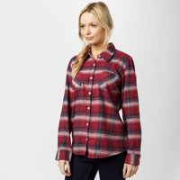 Brakeburn Women's Check Flannel Shirt, Red