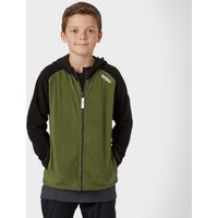 Regatta Boys Upflow Hooded Fleece, Green