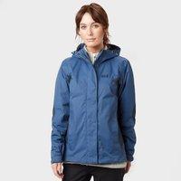 Jack Wolfskin Women's Phenix Waterproof Jacket, Navy