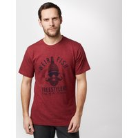 Weird Fish Mens Freestylers T-Shirt, Red