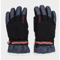 Protest Womens Didbrook Snow Gloves, Black