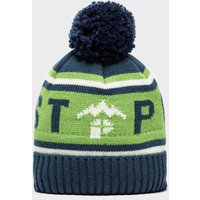 Protest Quote Bobble Beanie, Blue