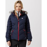 Salomon Womens Icetown Ski Jacket, Navy