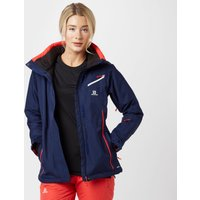 Salomon Womens Fantasy Ski Jacket, Navy
