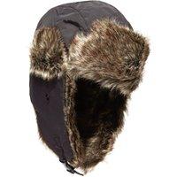Peter Storm Mens Fred Trapper Hat, Black