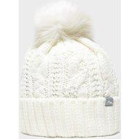Peter Storm Women's Daisy Bobble Hat, White