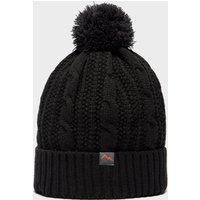 Peter Storm Men's Leon Waterproof Bobble Hat, Black