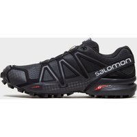 Salomon Mens Speedcross 4 Trail Running Shoes, Black