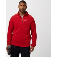 Craghoppers Mens Newlyn Half Zip Fleece, Red