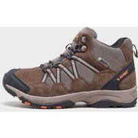 Hi Tec Mens Dexter Waterproof Mid Hiking Shoe, Brown