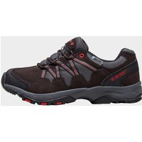 Hi Tec Mens Dexter Waterproof Hiking Shoe, Black